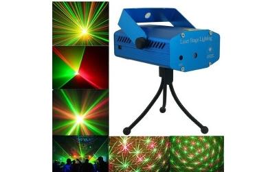 Mini proiector laser cu efect artificii