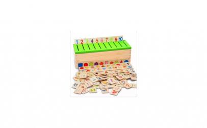 Joc Montessori de sortare si asociere 88