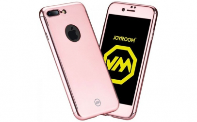 Husa Joyroom 360 + folie sticla iPhone