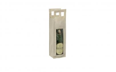 Punga cadou pentru sticla de vin