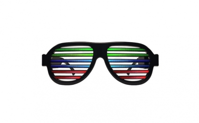 Ochelari cu LED de club si festival