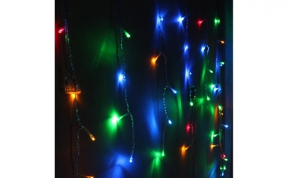 Perdea luminoasa, 3x3m 352LED multicolor