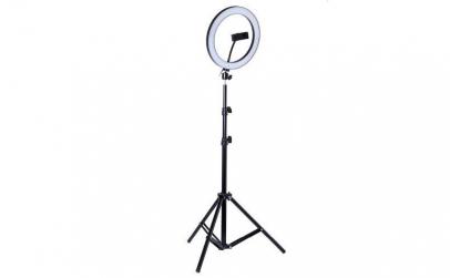 Lampa circulara LED,trepied inclus