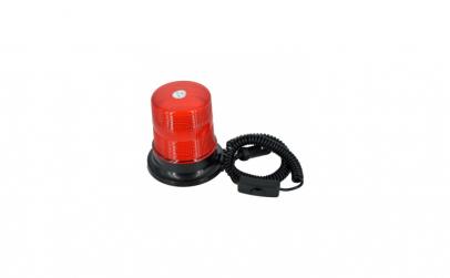 Girofar flash cu magnet rosu 12V SWL14