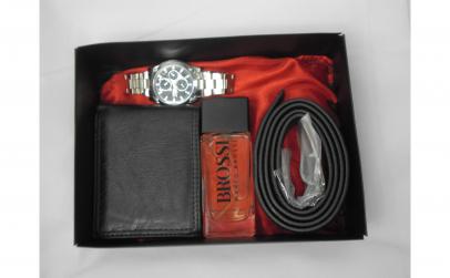 Set cadou ceas qz, parfum, portofel