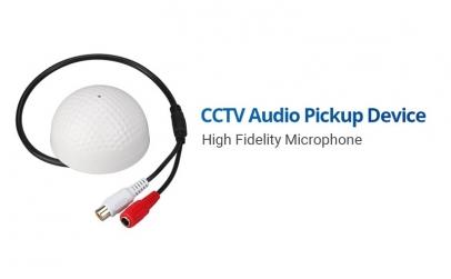 Microfon sferic pentru sisteme de suprav