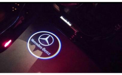 Holograma cu led pentru Mercedes