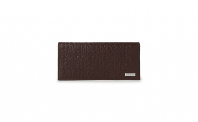 Portofel Calvin Klein Brown Embossed