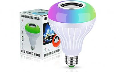 Bec muzical inteligent cu LED