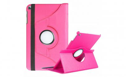 Husa Apple iPad 2/3/4, rotire 360 °, roz