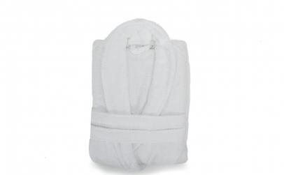 Halat de baie alb Somnart unisex, XL