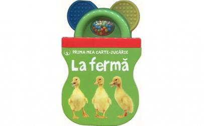 Bebe Invata. La Ferma (Carte Cu Jucarie)