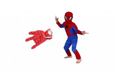 Set costum Spiderman marimea M si