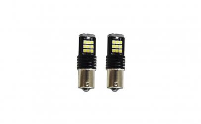 Set x 2 becuri LED P21W 24 LED Canbus