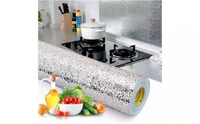 Folie design aluminiu pt bucatarie