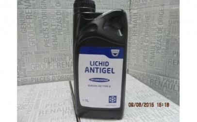 Antigel Dacia Glaceol RX Tip D Original