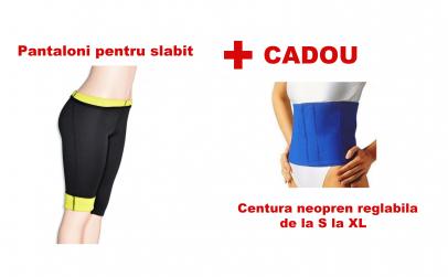 Pantaloni slabit + Centura