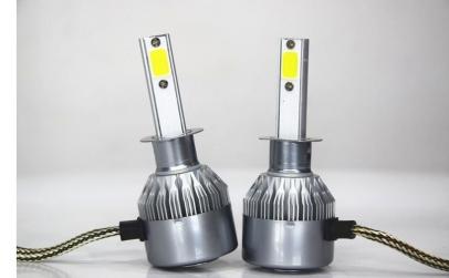Set becuri auto LED C6 H7