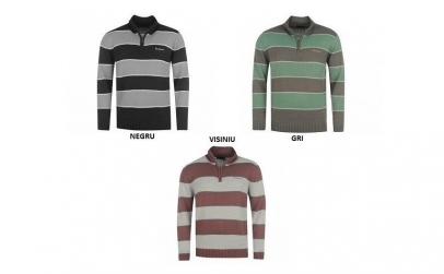 Pulover barbati Pierre Cardin Stripe