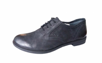 Pantofi dama cu siret - din piele