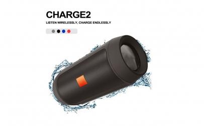 Boxa portabila, Charge, doua difuzoare