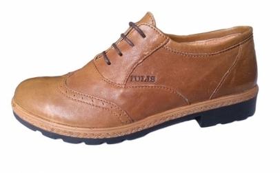 Pantofi Oxford din piele naturala