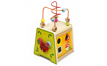 Cub educativ Montessori 5 in 1