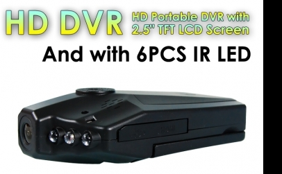Camera auto HD cu ecran rabatabil