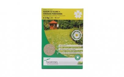 Seminte gazon cu flori Agrosel, 1 kg