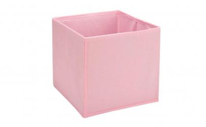 Cutie pentru depozitare pliabila roz