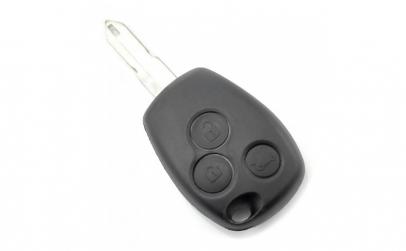 Dacia   Renault   Carcasa cheie cu 3
