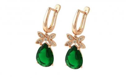 Cercei Luxury Green Emerald