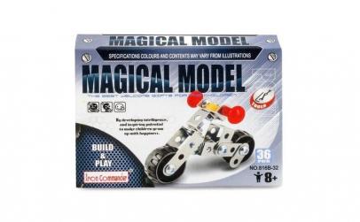 Puzzle Metalic Motocicleta 36 piese