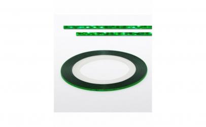 Banda decorativa unghii - Laser Green