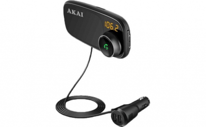 Modulator FM Akai FMT-16BT, Bluetooth,