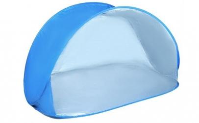 Cort plaja semi-deschis, protectie UV,