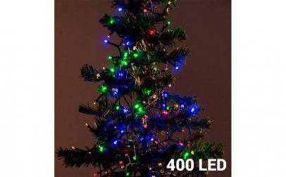 Lumini de Crăciun Multicolore (400