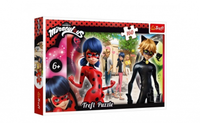 Puzzle Miraculous  160 piese