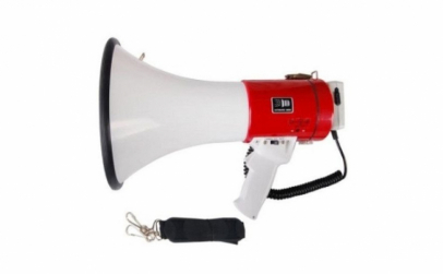 Portavoce tip megafon, 25W, cu microfon