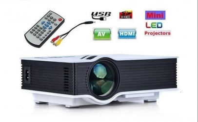 Videoproiector LED UC46, WIFI, USB, HDMI