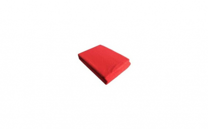Cearceaf de pat rosu 180x200 cm