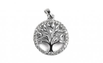 Pandantiv Argint 925 Copac Incadrat