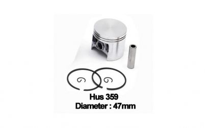 Piston complet Husqvarna 359 (47mm) -