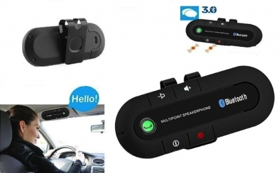 Car kit bluetooth parasolar