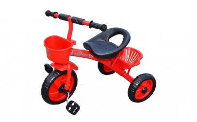 tricicleta  metalica, 2-4 ani