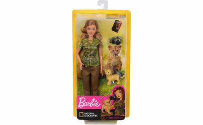 PAPUSA BARBIE NATIONAL GEOGRAPHIC