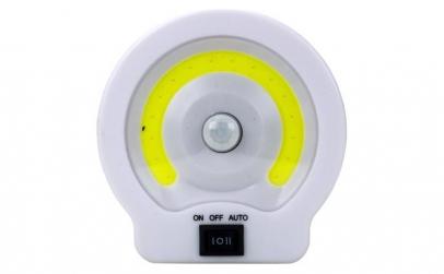 Lampa LED cu senzor de miscare 80lm.