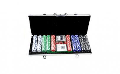 Set Poker 500 piese in valiza