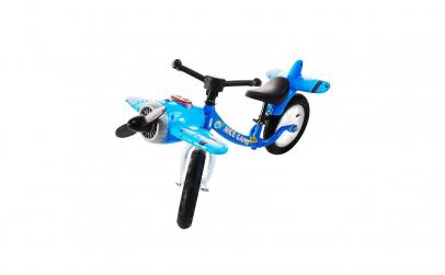 Bicicleta fara pedale,model avion