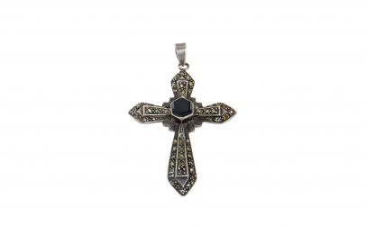Pandantiv - crucifix din argint 925